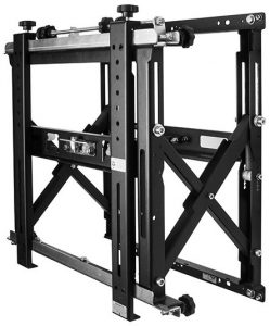B-Tech BT8310 - Mounts - Video Wall Brackets and Stands: Professional Video Wall Mount with Quick Lock Push System (Max weight 50kg; VESA 200x200, 300x200, 400x200, 200x300, 300x300, 400x400, 600x400) http://www.ivojo.co.uk/component.php?pid=B-Tech_BT8310